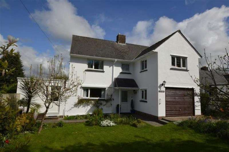 4 Bedrooms Detached House for sale in Ty'r Winllan, Cefnllan Road, Waunfawr, Aberystwyth, SY23