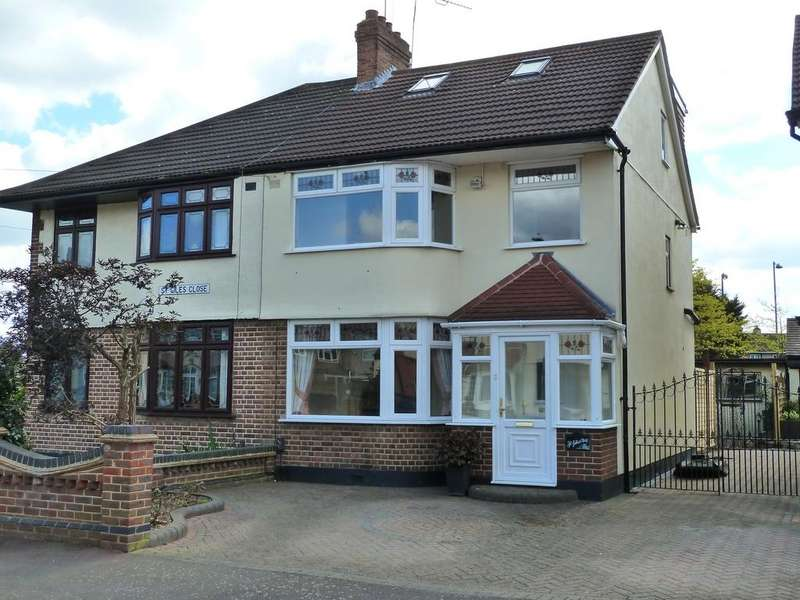 4 Bedrooms Semi Detached House for sale in ST. Giles Close, DAGENHAM VILLAGE, DAGENHAM, Greater London RM10