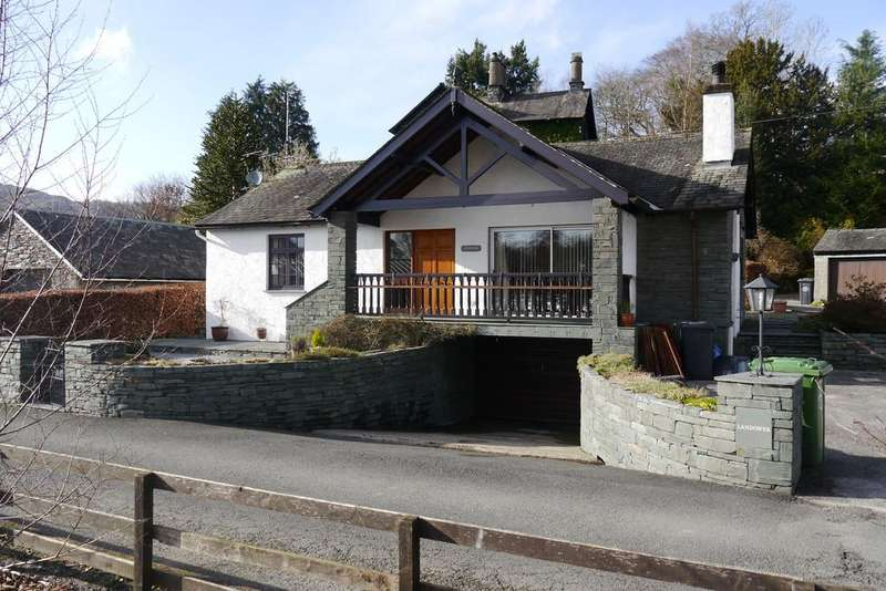 3 Bedrooms Detached Bungalow for sale in Landower Rydal Road, Ambleside LA22 9AY