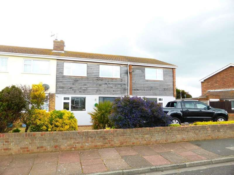 4 Bedrooms Semi Detached House for sale in Drake Avenue, Langney Point, Eastbourne, BN23