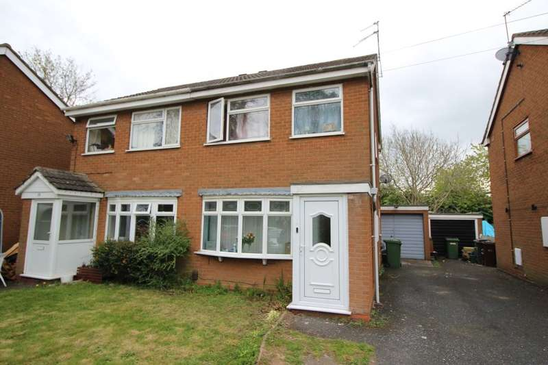 3 Bedrooms Semi Detached House for sale in Wickham Gardens, Wolverhampton, WV11