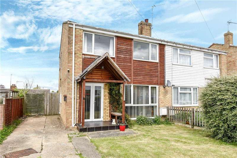3 Bedrooms Semi Detached House for sale in Abbey Close, Bozeat, Northamptonshire