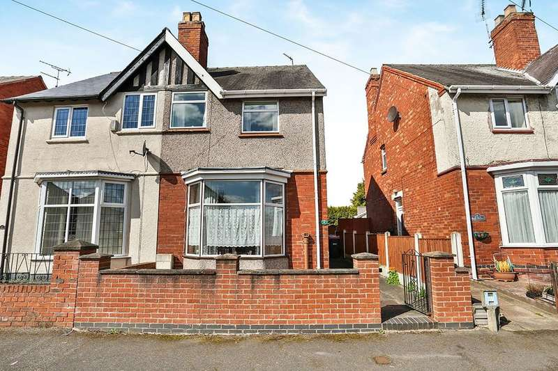 3 Bedrooms Semi Detached House for sale in Park Avenue, Hucknall, Nottingham, NG15