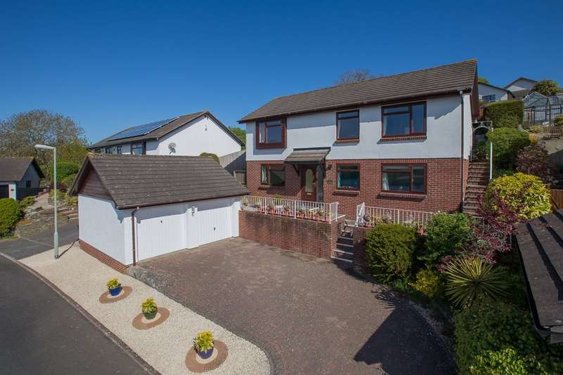 4 Bedrooms Detached House for sale in Great Furlong, Bishopsteignton