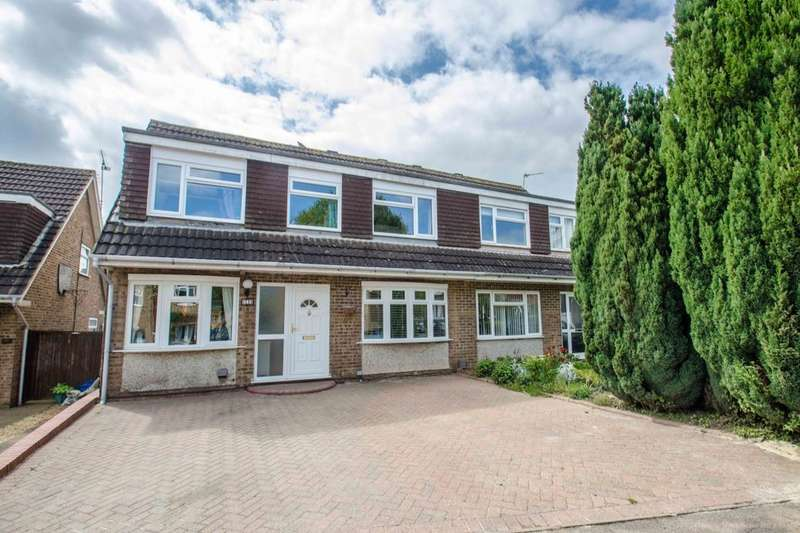 5 Bedrooms Semi Detached House for sale in Milton View, Hitchin, SG4