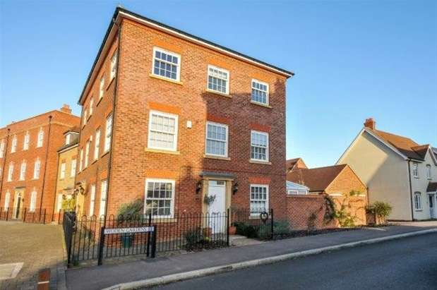 4 Bedrooms Terraced House for sale in Woden Gardens, Great Denham, Bedford