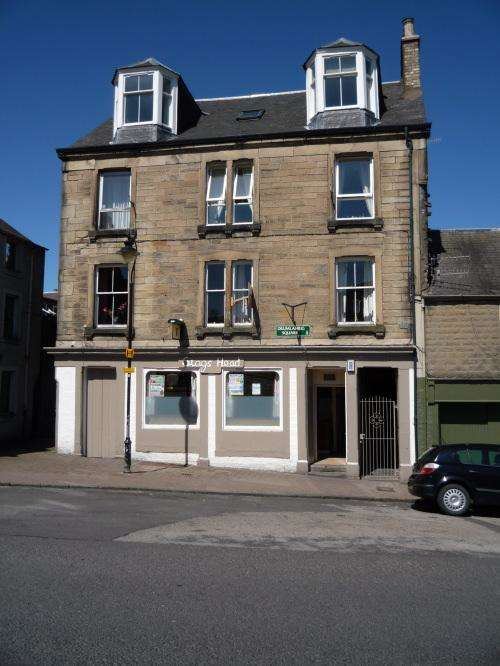 3 Bedrooms Flat for sale in Stags Head Public House & First Floor Flat, 13 Drumlanrig Square Hawick, TD9 0AS