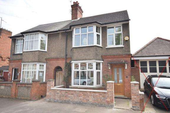 3 Bedrooms Semi Detached House for sale in Kingsley Avenue, Kettering