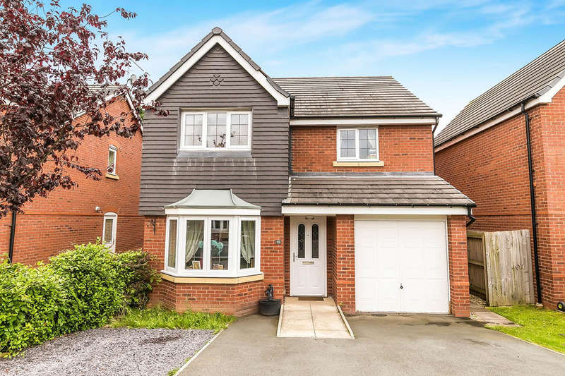 4 Bedrooms Detached House for sale in Heritage Way, Llanymynech, SY22