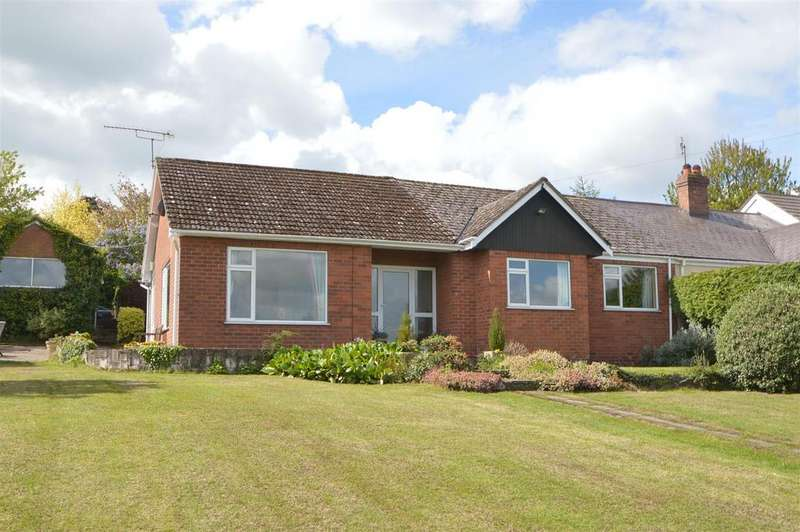 3 Bedrooms Semi Detached Bungalow for sale in 12 Sharpstones Lane, Bayston Hill, Shrewsbury, SY3 0AN