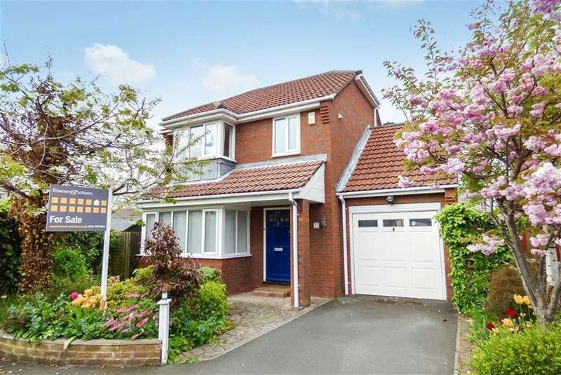 3 Bedrooms Detached House for sale in Robert Westall Way, North Shields