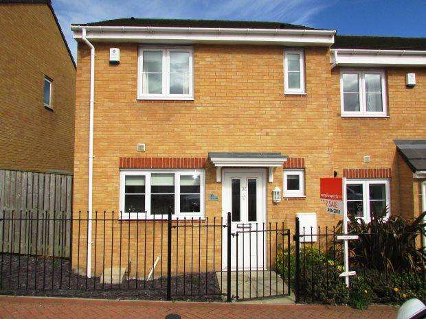 3 Bedrooms Semi Detached House for sale in MORTON CLOSE, MURTON, SEAHAM DISTRICT