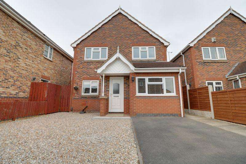 3 Bedrooms Detached House for sale in Sorrel Way Scunthorpe