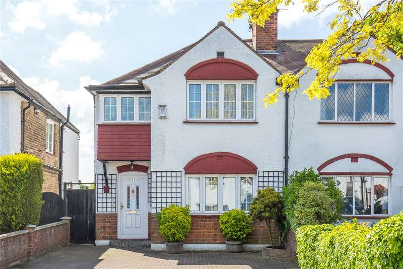 3 Bedrooms Semi Detached House for sale in Mayfield Avenue, Southgate, N14