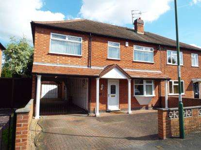 5 Bedrooms Semi Detached House for sale in Charlbury Road, Nottingham, Nottinghamshire