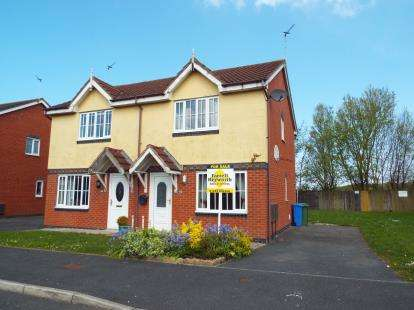 2 Bedrooms Semi Detached House for sale in Redcar Avenue, Thornton-Cleveleys, FY5