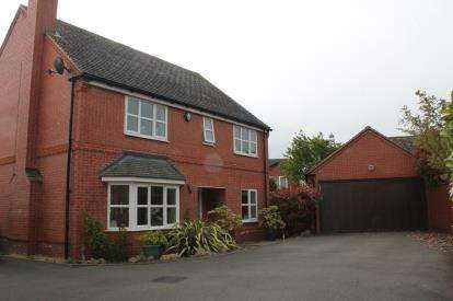 4 Bedrooms Detached House for sale in Wharrad Close, Bidford-On-Avon, Alcester
