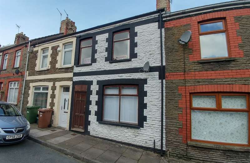3 Bedrooms Terraced House for sale in Salop Street, Caerphilly