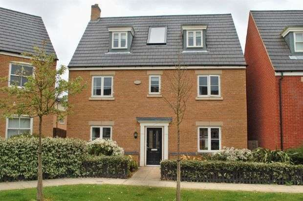 5 Bedrooms Detached House for sale in Digby Close, Timken South, Duston NN5 6GU