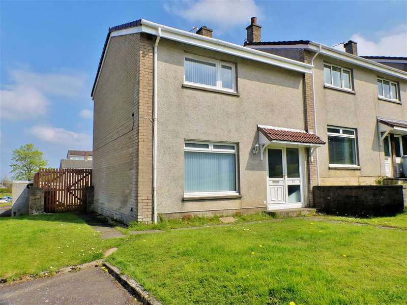 2 Bedrooms End Of Terrace House for sale in Melbourne Avenue, Westwood, EAST KILBRIDE