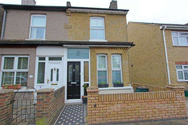 3 Bedrooms Semi Detached House for sale in Newark Road, South Croydon