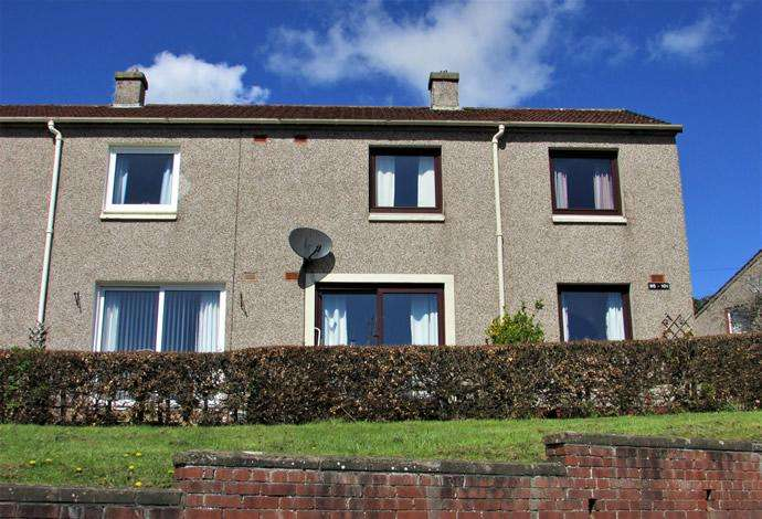 2 Bedrooms Semi Detached House for sale in 97 Silverbuthall Road, Hawick, TD9 7BJ