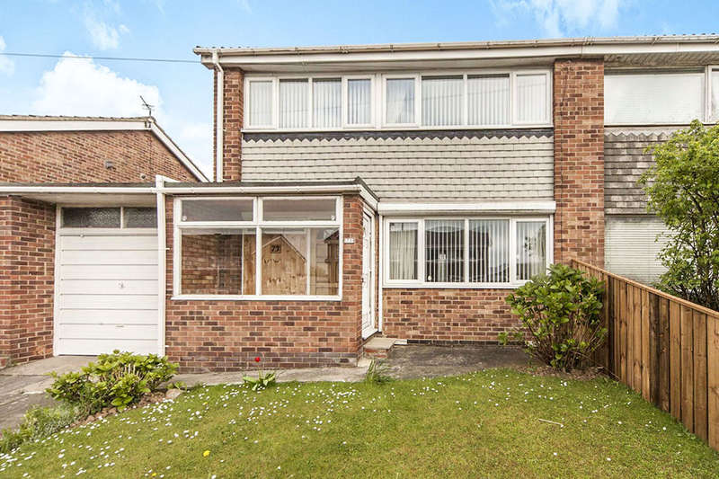 3 Bedrooms Semi Detached House for sale in Sevenoaks Drive, Hasting Hill, Sunderland, SR4