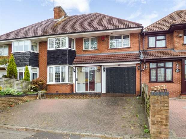 4 Bedrooms Semi Detached House for sale in Haunch Lane, Birmingham, West Midlands