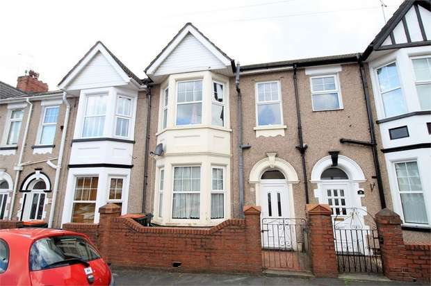 3 Bedrooms Terraced House for sale in Rochester Road, NEWPORT