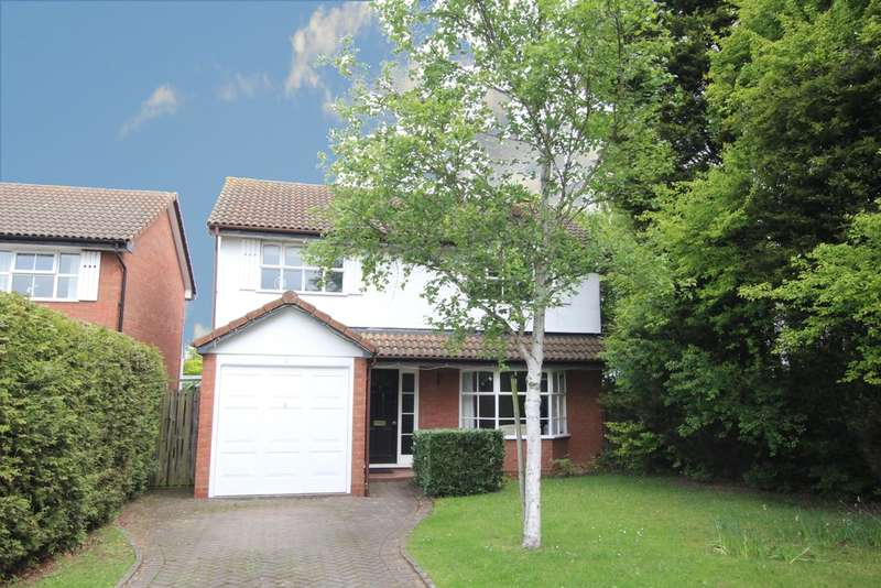 4 Bedrooms Detached House for sale in Geoffrey Close, Walmley, Sutton Coldfield. B76 1GB