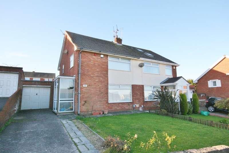 3 Bedrooms Semi Detached House for sale in Dochdwy Road, Llandough, Penarth. Vale of Glamorgan. CF64 2PD