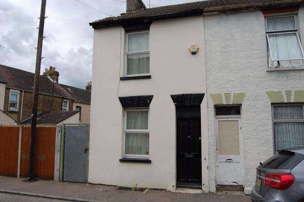 2 Bedrooms Terraced House for sale in Otway Street, Gillingham, ME7