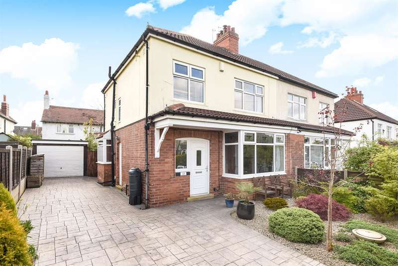 3 Bedrooms Semi Detached House for sale in Talbot Grove, Roundhay, Leeds, LS8 1AB