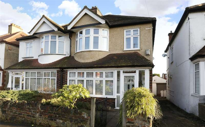4 Bedrooms Semi Detached House for sale in Wharncliffe Gardens, South Norwood