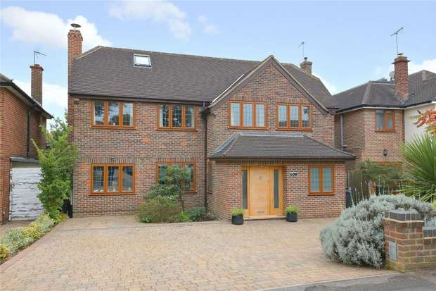 6 Bedrooms Detached House for sale in Newberries Avenue, Radlett, Hertfordshire