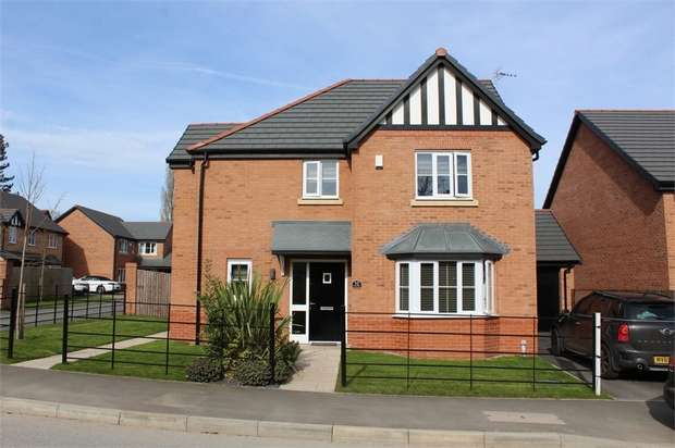 4 Bedrooms Detached House for sale in Britannia Road, Cuddington, Northwich, Cheshire