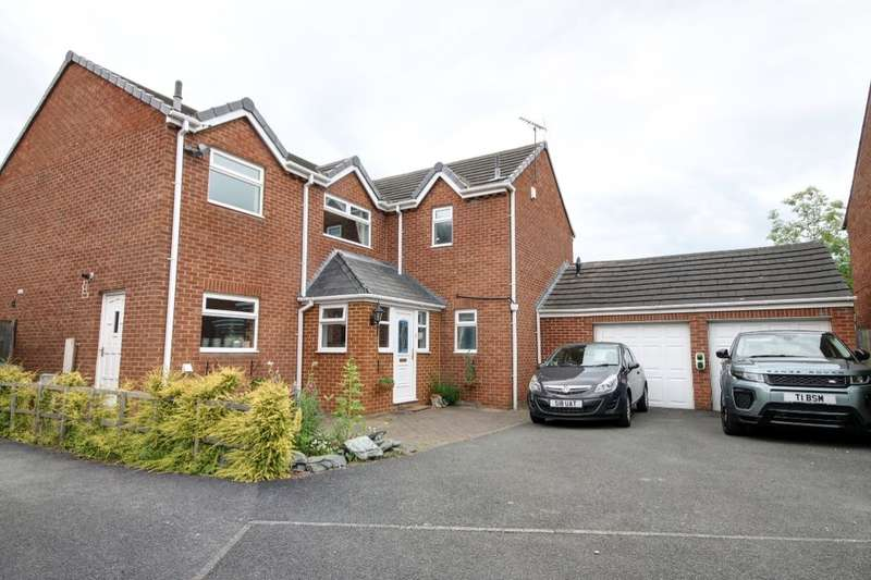 4 Bedrooms Detached House for sale in Grasslees, Washington, NE38