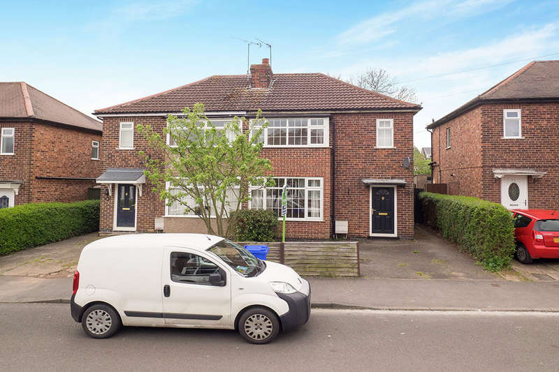 3 Bedrooms Semi Detached House for sale in Nursery Avenue, Sandiacre, Nottingham, NG10
