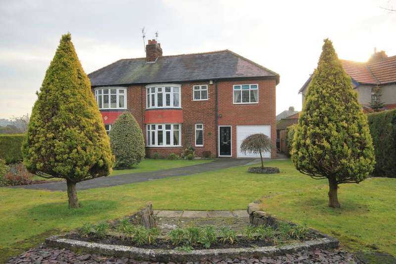 4 Bedrooms Semi Detached House for sale in Roman Avenue, Chester Le Street, DH3