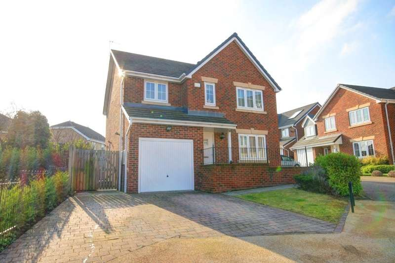 4 Bedrooms Detached House for sale in Birch View, Chester Le Street, DH2