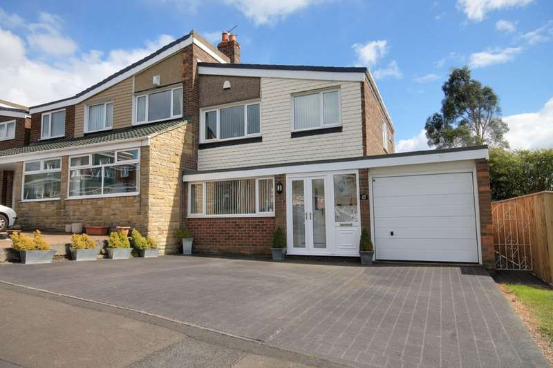 3 Bedrooms Semi Detached House for sale in Crathie, Birtley, Chester Le Street, DH3