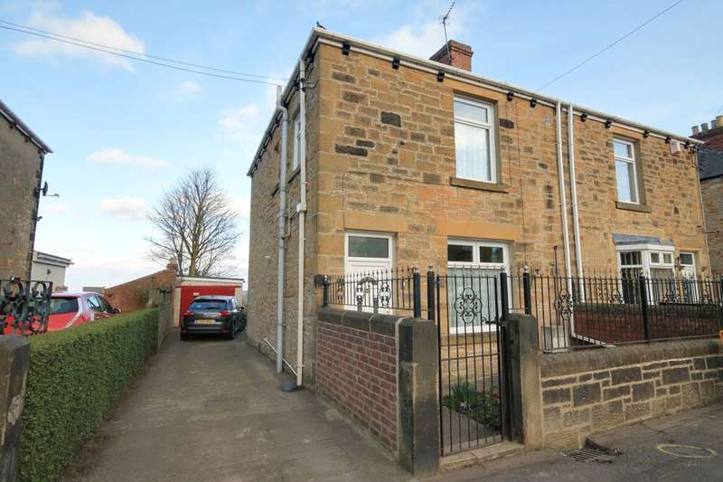 2 Bedrooms Semi Detached House for sale in The Villas, Hare Law, Stanley, DH9