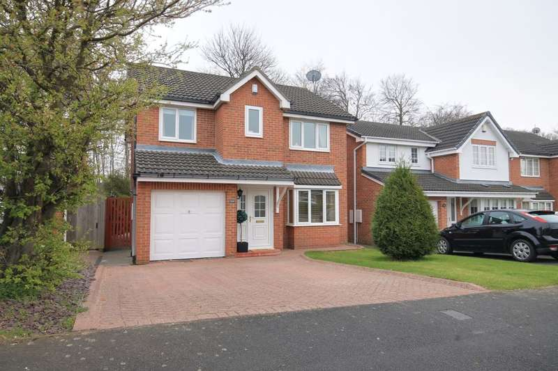 4 Bedrooms Detached House for sale in Warkworth Drive, Chester Le Street, DH2