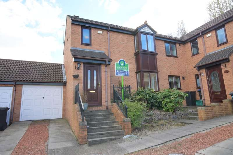 3 Bedrooms Semi Detached House for sale in Ashton Rise, Chester Le Street, DH2