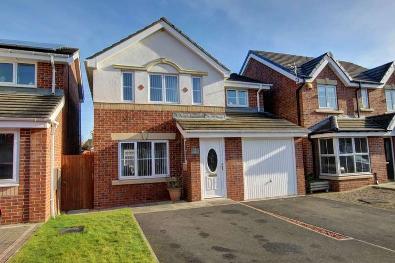 3 Bedrooms Detached House for sale in Dunscar, Mulberry Park, Houghton Le Spring, DH4