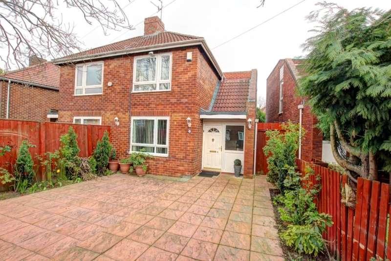 2 Bedrooms Semi Detached House for sale in Eastwood Gardens, Felling, Gateshead, NE10