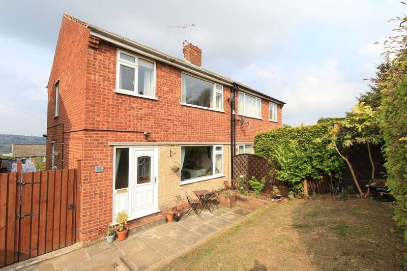 3 Bedrooms Semi Detached House for sale in Hallowes Drive, Dronfield