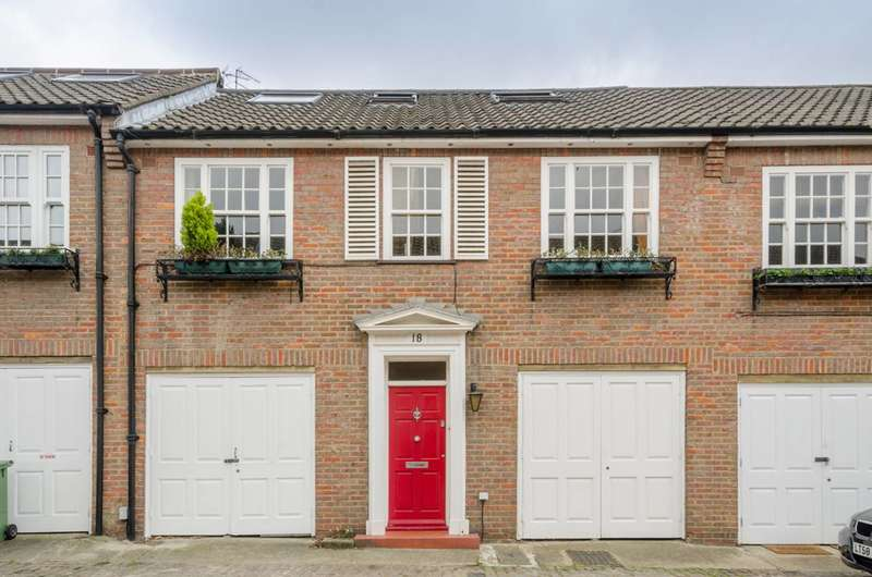 3 Bedrooms Flat for sale in Fairfax Place, South Hampstead, NW6