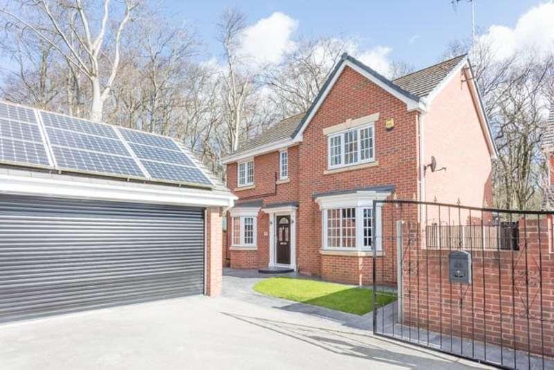 4 Bedrooms Detached House for sale in Tranker Lane, Worksop, Nottinghamshire, S80