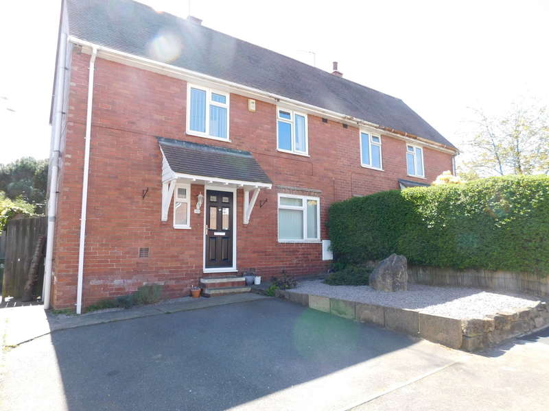 3 Bedrooms Semi Detached House for sale in Crampton Avenue, Mansfield
